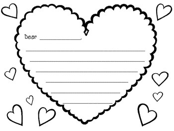 Valentine Writing  {FREE}