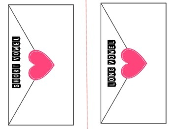FREE Valentine's Day Center Activities {Short/long vowels and math}