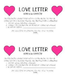 Redo Request - Love Letter