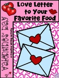 Valentine's Day LOVE LETTER To Your Favorite Food (Descriptive Writing)