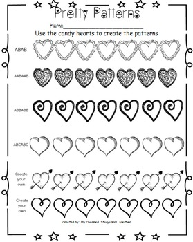 Love Letters- Math & Literacy Packet