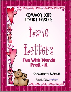 Love Letters PreK - K