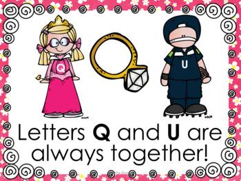 Q and U