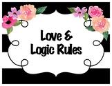Love & Logic Posters Kate Spade Inspired