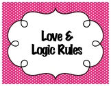 Love & Logic Posters Polka-Dot Multi-Color