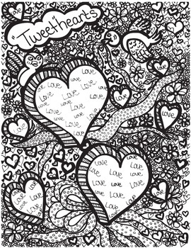 Love & Luck (Feb & Mar doodles)