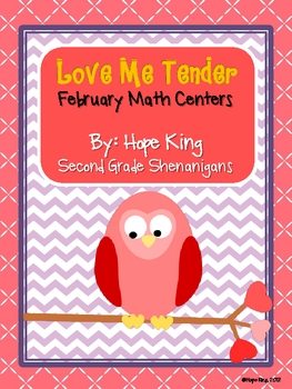 Love Me Tender: February Math Centers