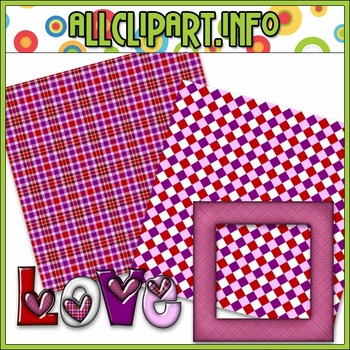 $1.00 BARGAIN BIN - Love Mini Clip Art Kit