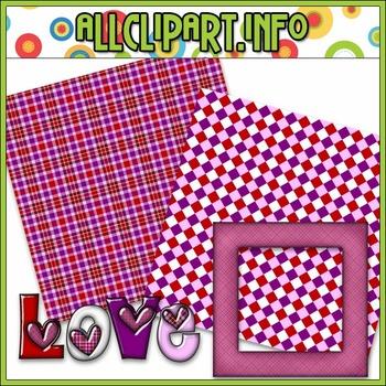 $1.00 BARGAIN BIN - Love Mini Clip Art Kit