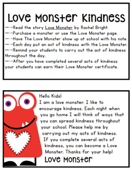Love Monster Acts of Kindness