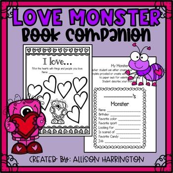 Love Monster - Book Companion