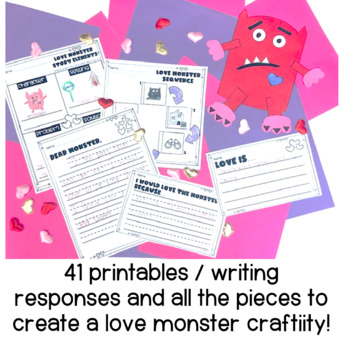Love Monster Book Companion PACK