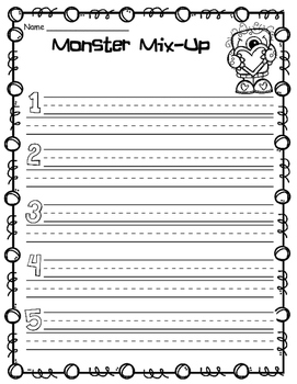 Love Monster Book Extension 1-2