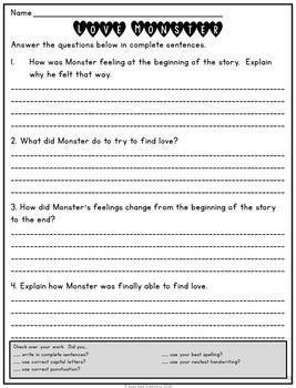 Love Monster Book Study
