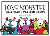 Love Monster Calendar and Pattern Cards