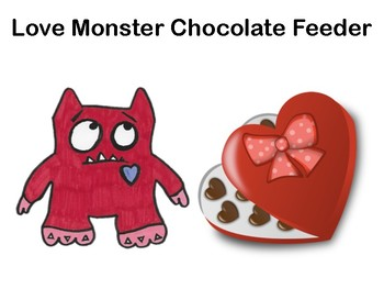 Love Monster Chocolate Feeder & Board Game