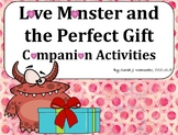 Love Monster Companion Activities for Speech & Language