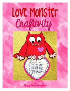 Love Monster Craftivity