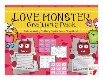 Love Monster Craftivity Pack