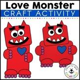 Love Monster Craft | Valentines Day Activity | Book Craft Activities