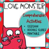 Love Monster Digital Activites   Printable
