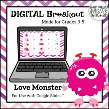 Digital Breakout Escape Room - Valentine's Day