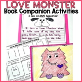 Love Monster Activities: Directed Drawing, Writing, & Clos