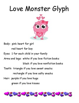 Love Monster Glyph and Poem