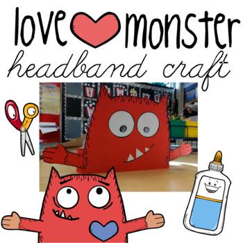 Love Monster Headband Craft