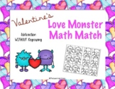 Love Monster Match - 3-Digit Subtraction Without Regroupin