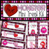 Love Monster Mini Treat Kit - Valentines Day Student Gifts