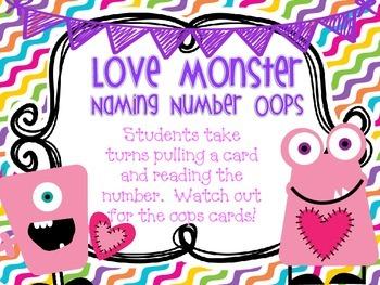 Love Monster- Naming Numbers OOPS
