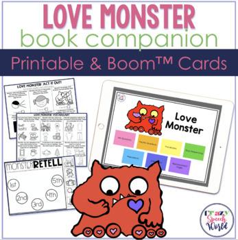 Love Monster:  No Prep Speech & Language Activities