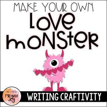 Love Monster Readers Theater Play & Craftivity