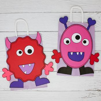 Love Monster Valentine Sack!