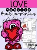Love Monster: Speech Therapy Book Companion