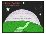 Love Monster Speech Therapy Companion Pack