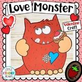 Love Monster Valentine Craft