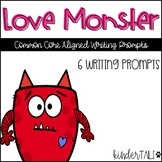 Love Monster Writing Prompts {Valentine's Day}