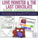 Love Monster and The Last Chocolate Speech Activities | Bo