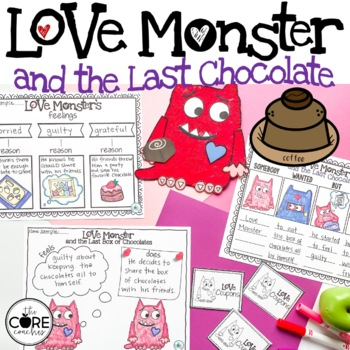 Love Monster and the Last Chocolate: Interactive Read-Aloud Lesson Plans