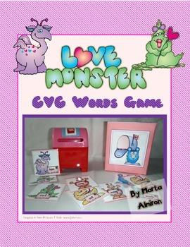 Love Monsters - CVC Word Game