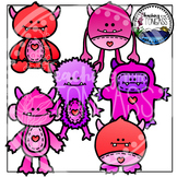 Valentine Clipart (Monster Clipart)