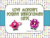 Love Monsters Positive Reinforcement Cards
