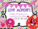 Love Monsters- Valentine Centers- 1st Grade
