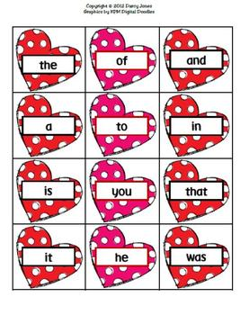 Love Monsters Word Fluency Station