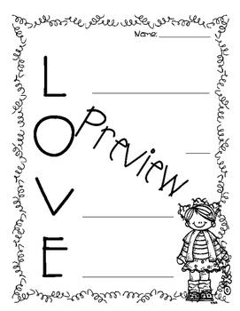 Love Monsters {craft & printables}