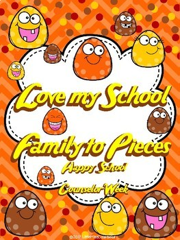 Love My School Family:  Freebie School Counseling Week Posters and More