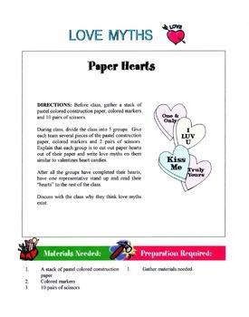 Love Myths Lesson