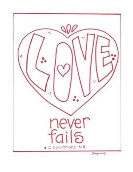 Love Never Fails - I Corinthians 13:8